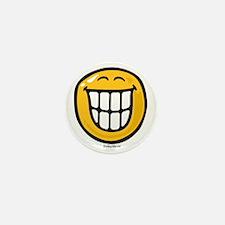 delight smiley Mini Button