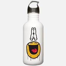 exultance smiley Water Bottle