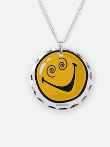crazy smiley Necklace
