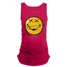 unconscious smiley Maternity Tank Top