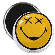 unconscious smiley Magnet