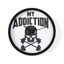 My addiction Wall Clock