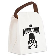 My addiction Canvas Lunch Bag