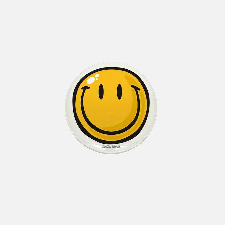 big smile smiley Mini Button