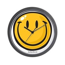 big smile smiley Wall Clock