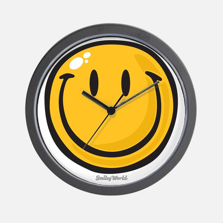 big smile smiley Wall Clock