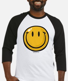 big smile smiley Baseball Jersey