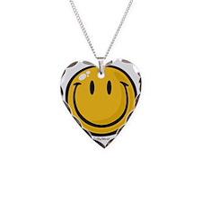 big smile smiley Necklace