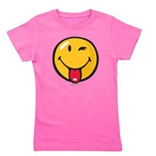 playful smiley Girl's Tee