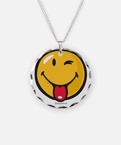 playful smiley Necklace