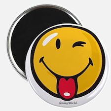 playful smiley Magnet