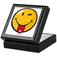 playful smiley Keepsake Box