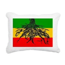 Rasta Roots Rectangular Canvas Pillow