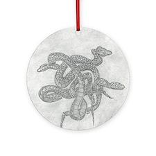 Serpentrilogy Round Ornament