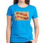 Flat N Dakota Women's Dark T-Shirt