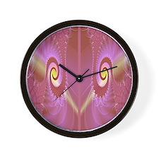 mauve flip flops Wall Clock