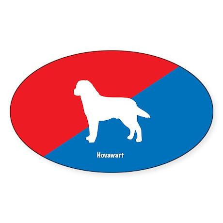 Hovawart Oval Sticker