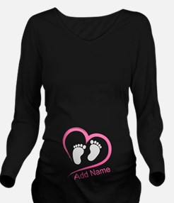 Unique Personalized baby Long Sleeve Maternity T-Shirt