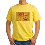 Flat Wyoming Yellow T-Shirt