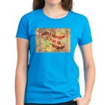 Flat Wyoming Women's Dark T-Shirt