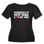 Somebody in New York Loves Me Women's Plus Size Sc