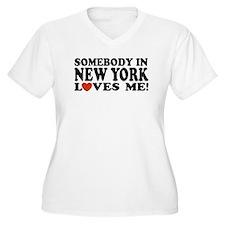 Somebody in New York Loves Me T-Shirt