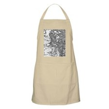 Flowing Silver Apron