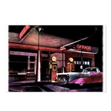 1950s Gas Station Scene Postcards (Package of 8)