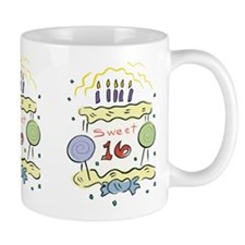 Sweet 16 Birthday Small Mug