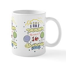 Sweet 16 Birthday Small Mugs
