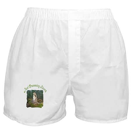 Drumming grouse Boxer Shorts