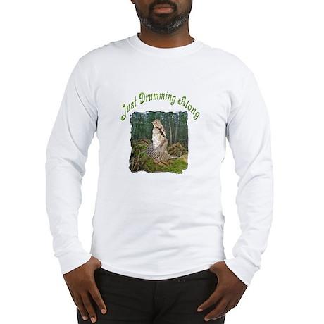 Drumming grouse Long Sleeve T-Shirt