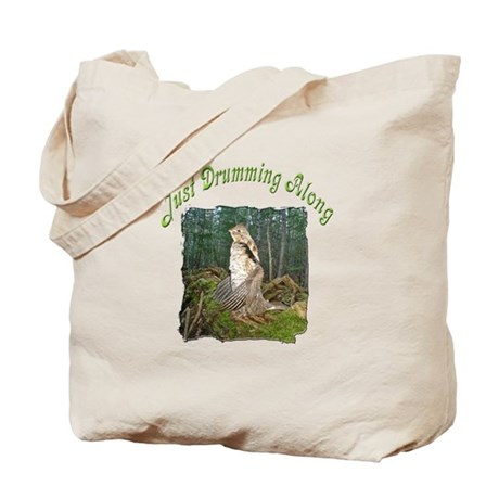 Drumming grouse Tote Bag