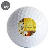 Serenity prayer Golf Ball