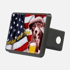 American dog Hitch Cover