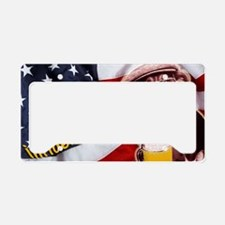 American dog License Plate Holder