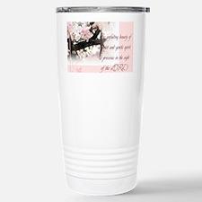 Quiet and Gentle spirit Stainless Steel Travel Mug