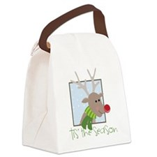 'Tis The Season Canvas Lunch Bag