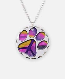 Peaceful Paws Giant Dog Resc Necklace
