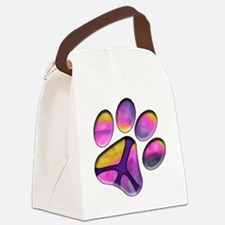 Peaceful Paws Giant Dog Rescue Se Canvas Lunch Bag