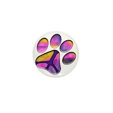 Peaceful Paws Giant Dog Rescue Service Mini Button