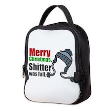 Christmas Shitter Neoprene Lunch Bag