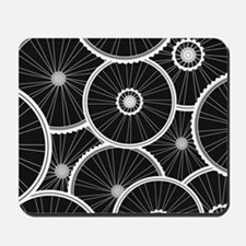 Bicycle Wheels Pattern - Sports Backgrou Mousepad