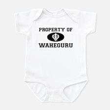 Property of Waheguru Infant Bodysuit