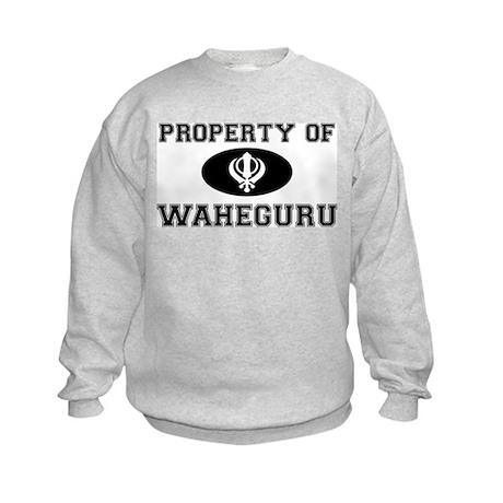 Property of Waheguru Kids Sweatshirt