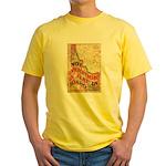Flat Idaho Yellow T-Shirt