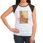 Flat Idaho Women's Cap Sleeve T-Shirt