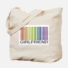 Girlfriend Gay Tote Bag