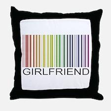Girlfriend Gay Throw Pillow