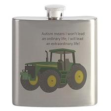 Autism Tractor Flask
